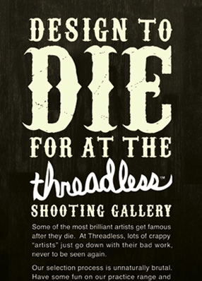 THREADLESS SHOOTING GALLERY CAMPAIGN